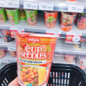 #バンコク で買った #NISSIN #トムヤムクン味 #カップ麺 #Bangkok #タイ旅行