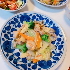 #今天的晚餐 #八宝菜 #中华菜 #美味しかった #おうちごはん #babaocai #野菜