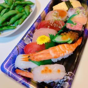 #お寿司 ❤️ #今日の晩ご飯 #おうちじかん #美味しかったね #dinner #寿司