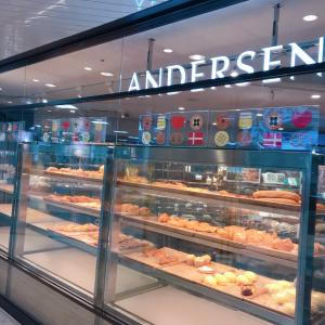 #アンデルセン  #池袋東武 この #パン #美味しいよ #ふわふわ #朝食パン #ベーカリー