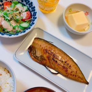 #鯖の照焼き #サバ #おうちごはん #晚饭 #お魚 #今天的晚餐 #晩ご飯