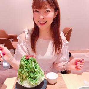 #茶寮ベーカリー #武蔵小山 で #抹茶かき氷 と #フレンチトースト #ふわとろ #カフェ巡り
