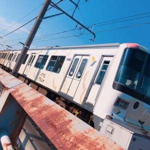 この #電車 #可愛かった #ひつじ電車 #train #鉄子 #甥っ子くんと #みんなで