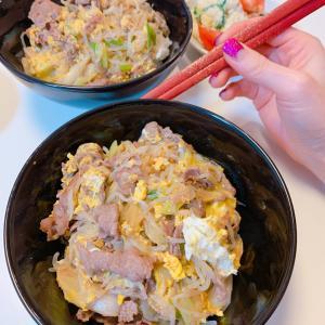 #牛丼 #美味しすぎ #おうちごはん #今日の夕飯 #晩ご飯 #牛肉盖饭 #晚餐