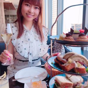 #パークホテル東京 #アフタヌーンティー  #お母さんと #ホテル宿泊 #三段ハイティー #AT