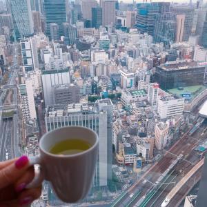 #パークホテル東京 から #おはよう #鉄道ビュー #すごい眺め #ホテル #宿泊記