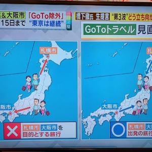#GOTOトラベル めちゃめちゃ過ぎて笑えるレベル #札幌 #大阪 #コロナ