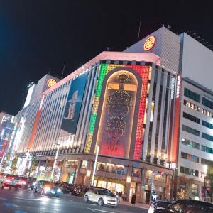 #銀座三越 #夜のライトアップ #綺麗 #三越 #銀座 #交差点 #Tokyo