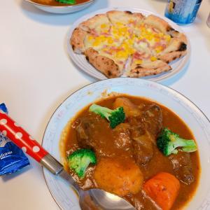 #誕生日 #ディナー は #ビーフシチュー #お母さんの料理 #MYBIRTHDAY