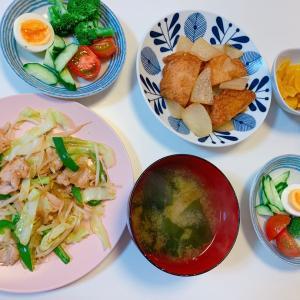 #オリンピック #金メダル すごかった! #晩ご飯 #炒め物 #煮物 #日餐 #今日の晩ご飯