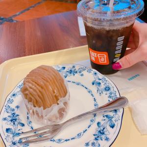 #ドトール まったり❤️ #モンブラン #ケーキセット #ケーキ #カフェ #アイスコーヒー