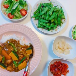 #カレー #昨日の晩ご飯 #お母さんの料理 #カレーライス #咖喱饭