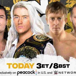 NXT UKタッグ王座戦、プリティデッドリー対サブカルチャー!【NXT UK・2021.7.22】