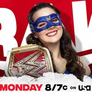 """新RAW女子王者""""ほぼスーパーヒーロー""""ニッキーA.S.H.登場!【RAW・2021.7.26・PART1】"""