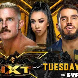 ラブ・ハー・アオ・リーブ・ハー・マッチ、デクスター・ルミス対ジョニー・ガルガノ!【NXT・2021.8.3・PART2】