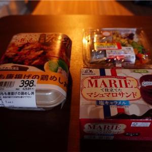 引っ越し準備頑張っているから、スーパーのお弁当という超贅沢なものを買ってしまってもいい。