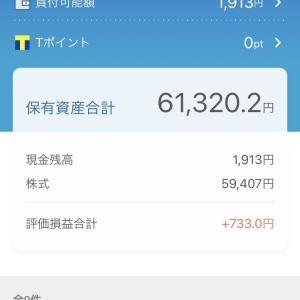 評価損益+733円