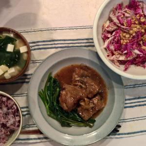 Dinner スペアリブの豆豉蒸し