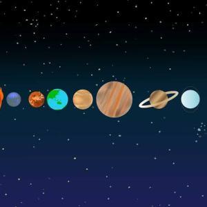 天体の公転周期のお話し。これを知れば万事納得、うまく使えば無敵になれる知識だ❗