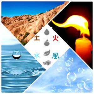 """四大元素""""火・土・風・水"""" の話。四大元素でわかるあなたのタイプ"""