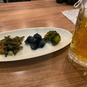 店名が「食の宝庫北海道」。函館駅2Fで、ちょい飲みした