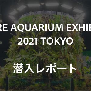 NATURE AQUARIUM EXHIBITION 2021 TOKYOに行ってきた