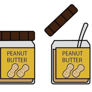[日記]そうだ、ピーナッツバターを食べよう(10月分04日目)