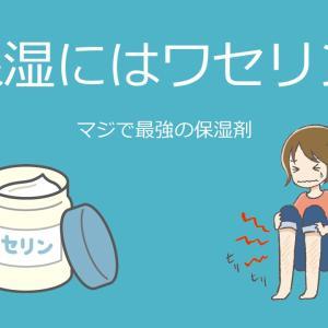 【必見!】乾燥肌にはワセリンが最高