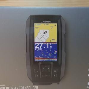 コスパGPS魚探 Garmin Striker Plus 4を購入