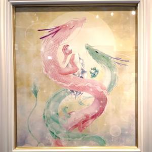 昨日は龍神画家弥生さんの個展へ行って来ました