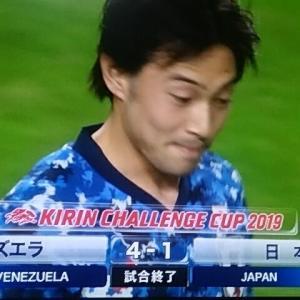 日本対ベネズエラ