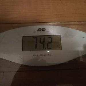 ダイエット生活9週目