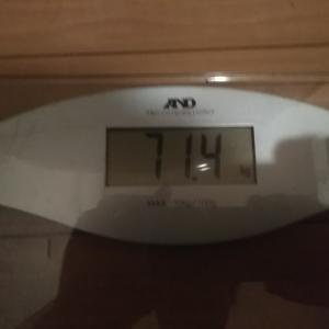 ダイエット生活20週目