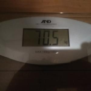 ダイエット生活68週目