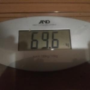 ダイエット生活69週目