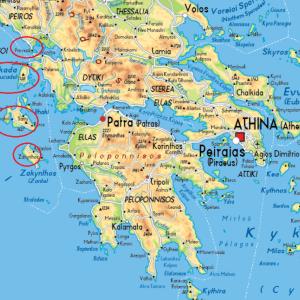 旅行:ギリシャ・イオニア海の島々(2021年9月)