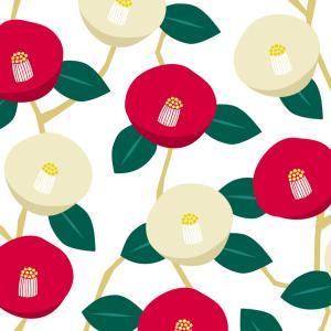 冬を彩る花 椿 【椿文について】