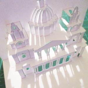 無料ダウンロード 折り紙建築 セント・ポール大聖堂