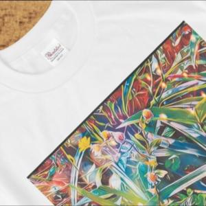 New Items arrival (^^♪ a-336 路傍の花 最後の恋Roadside flowers Last love Tシャツ