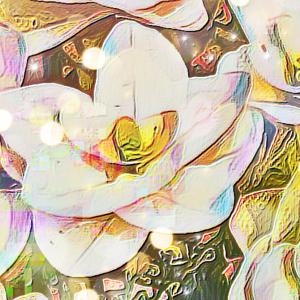 作品: 光 花 降り注ぐ Light, flowers, pouring down : 戒's gallery