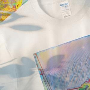 a-494 初夏 万華鏡 Early summer kaleidoscope Tシャツ
