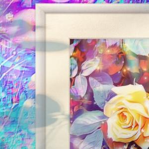 a-503 薔薇 沸き立つ光 Gorgeous light プリモアート(複製画)