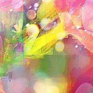 作品: 花 デジタルマトリックス 光と影 Flower Digital Matrix Light and Shadow : 戒's gallery