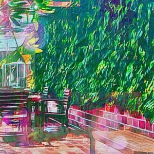 作品: 秋 テラス席で待ち合わせ Meet at the autumn terrace seats : 戒's gallery