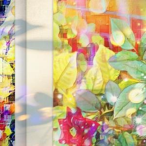 a-576 庭の薔薇 Garden Rose プリモアート(複製画)