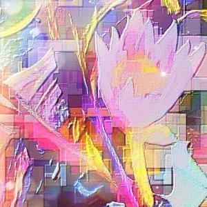 作品: 華 虹の睡蓮鉢 Glossy.  Rainbow water lily bowl : 戒's gallery