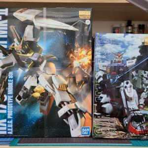【MGガンダムMk-Ⅱ】or【MG陸戦型ガンダム】
