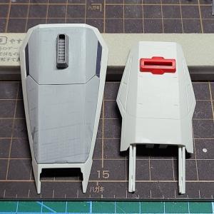 【MGガンダムMk-Ⅱ】シールド改修&アンテナシャープ化etc