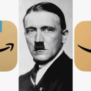 アマゾン、新しいAppのマークが「ヒトラーに似てる」ので変更へ