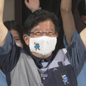 【静岡県知事選】現職の川勝平太氏 4回目の当選